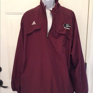 Adidas Maroon 2xl Team performance climate jacket